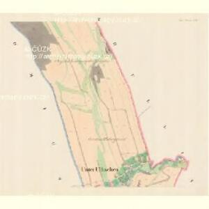 Unter Ullischen (Dolnj Olessne) - m0515-1-002 - Kaiserpflichtexemplar der Landkarten des stabilen Katasters
