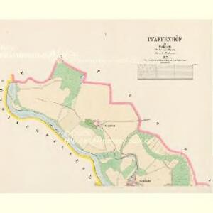 Pfaffenhöf - c3207-1-001 - Kaiserpflichtexemplar der Landkarten des stabilen Katasters