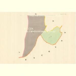 Mettilowitz - m1753-1-007 - Kaiserpflichtexemplar der Landkarten des stabilen Katasters