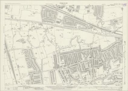 Middlesex XV.8 (includes: Ealing St Mary) - 25 Inch Map