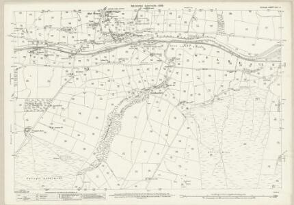 Durham XXIII.14 (includes: Stanhope) - 25 Inch Map