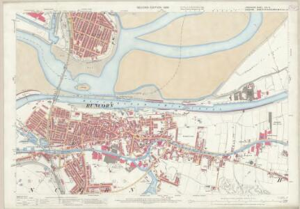 Lancashire CXV.13 (includes: Halton; Runcorn; Widnes) - 25 Inch Map