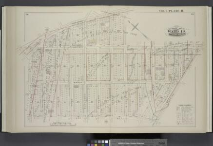 Vol. 6. Plate, R. [Map bound by Broadway, Middleton St., Harrison Ave., Flushing Ave., Lee Ave., Keap St.; Including Marcy Ave., Hooper St., Hewes St., Penn St., Rutledge St., Hayward St., Lynch St., Gwinnett St., Walton St., Wallabout St., Gerry St.]
