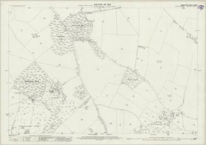 Berkshire XXVII.14 (includes: Chieveley; Hampstead Norris; Hermitage) - 25 Inch Map