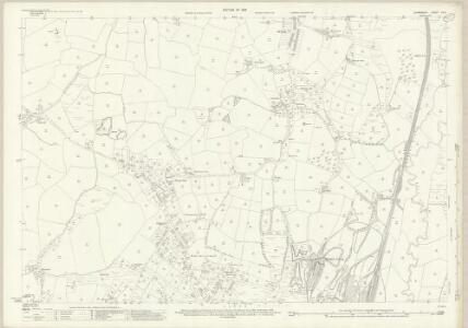 Glamorgan XIV.5 (includes: Llandeilo Tal Y Bont; Llanelly Rural; Llangennech; Loughor) - 25 Inch Map