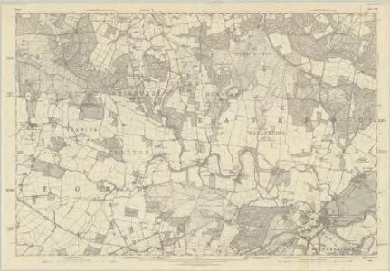 Sussex XXI - OS Six-Inch Map