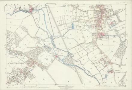 Cambridgeshire LIV.11 (includes: Pampisford; Sawston; Whittlesford) - 25 Inch Map