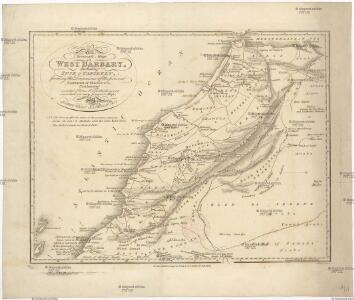 An accurate map of west Barbary, including Suse & Tafilelt, forming the dominions of the present emperor of Marocco