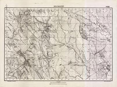 Lambert-Cholesky sheet 4680 (Şoldăneşti)