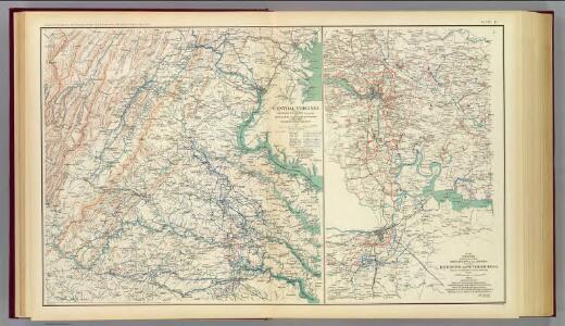 Central Virginia 1864-1865.