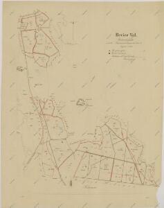 Porostní mapa polesí Val 1