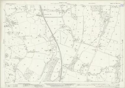 Sussex XIII.4 (includes: Horsham Rural; Warnham) - 25 Inch Map
