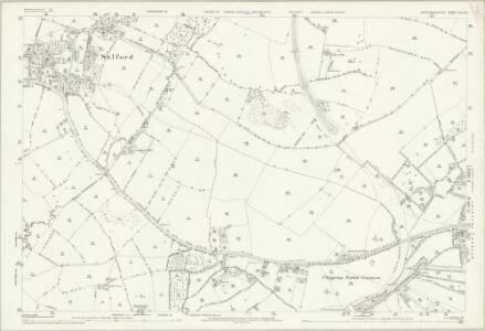 Oxfordshire XIV.10 (includes: Chipping Norton; Cornwell; Over Norton; Salford) - 25 Inch Map