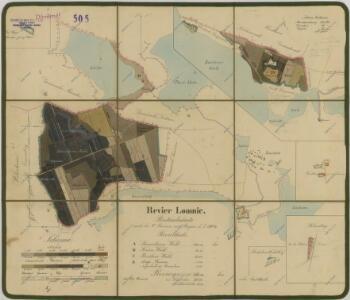 Porostní mapa polesí Lomnice 1