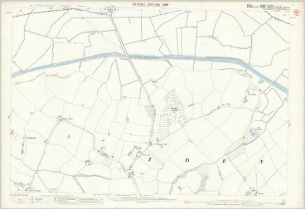 Kent LXXXIII.1 (includes: Iden) - 25 Inch Map