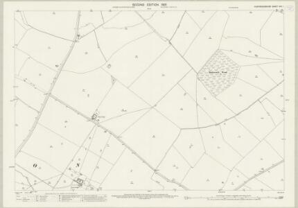 Huntingdonshire XVII.1 (includes: Barham and Woolley; Buckworth; Leighton) - 25 Inch Map