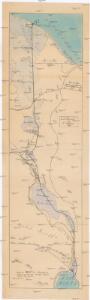 Carte générale de l'Isthme 1869