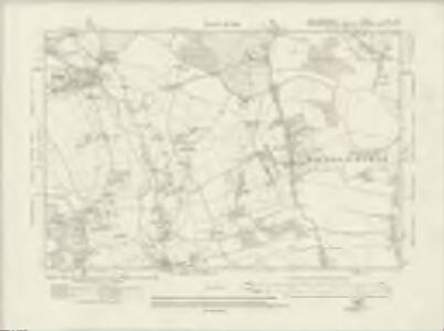 Hertfordshire XLIII.SW - OS Six-Inch Map