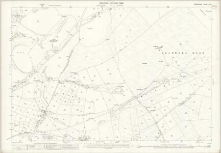 Derbyshire IX.16 (includes: Bradwell; Castleton; Peak Forest; Tideswell) - 25 Inch Map