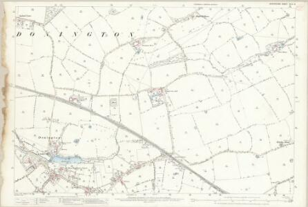 Shropshire XLIV.12 (includes: Albrighton; Donington) - 25 Inch Map