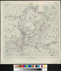 Meßtischblatt 2549 : Muskau, 1919