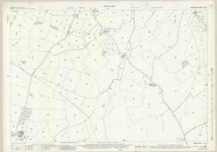 Shropshire XXI.9 (includes: Loppington; Myddle; Petton) - 25 Inch Map