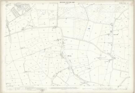 Durham XLI.7 (includes: Evenwood And Barony; Hamsterley; Lynesack And Softley) - 25 Inch Map