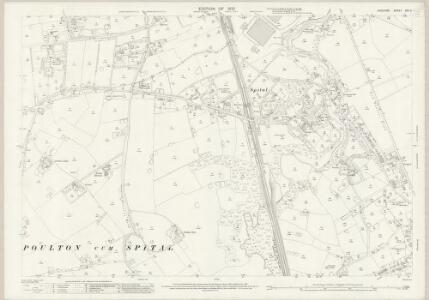 Cheshire XXII.4 (includes: Bebington and Bromborough; Poulton cum Spital; Thornton Hough) - 25 Inch Map