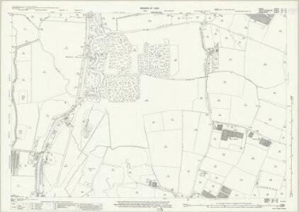 Essex (New Series 1913-) n LX.13 (includes: Cheshunt; Enfield St Andrew; Waltham Holy Cross) - 25 Inch Map