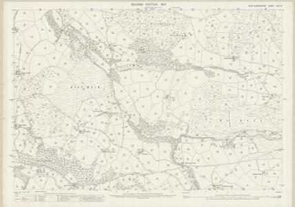 Montgomeryshire XXVI.14 (includes: Darowen; Penegoes; Uwchygarreg) - 25 Inch Map