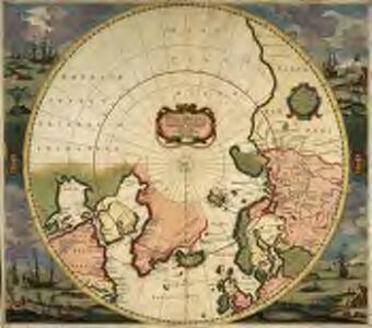 Poli arctici, et circumiacentium terrarum descriptio novissima