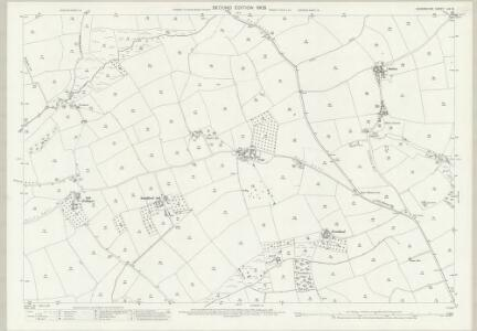 Devon LIV.12 (includes: Crediton Hamlets; Morchard Bishop; Sandford) - 25 Inch Map