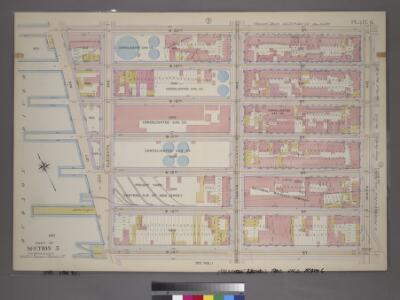 Plate 6, Part of Section 3: [Bounded by W. 20th Street, Ninth Avenue, W. 14th Street and Thirteenth Avenue.]