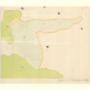 Glöckelberg - c9317-3-016 - Kaiserpflichtexemplar der Landkarten des stabilen Katasters