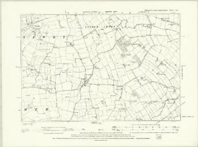 Yorkshire XXVIII.NW - OS Six-Inch Map