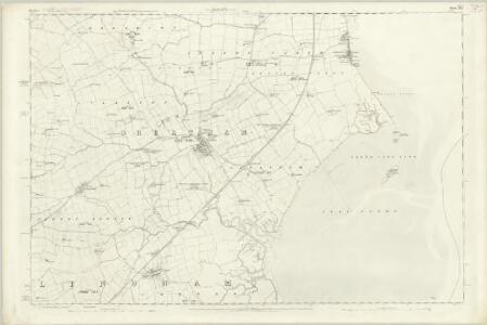 Durham XLV - OS Six-Inch Map