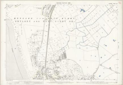 Cheshire XII.7 (includes: Grange; Hoylake cum West Kirby) - 25 Inch Map