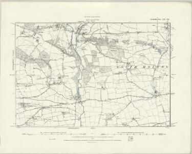 Devonshire XVI.NW - OS Six-Inch Map