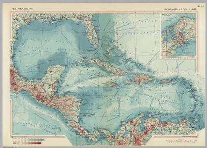 Central America and the West Indies.  Pergamon World Atlas.