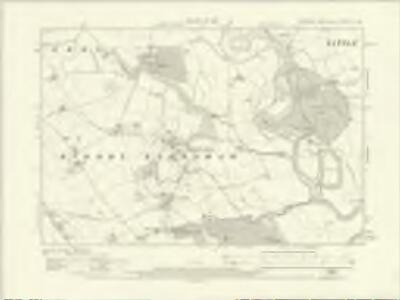 Yorkshire LV.SW - OS Six-Inch Map