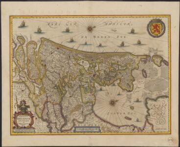 Comitatus Hollandiæ nova descriptio, ex optimis & novißimis delineationibus designata