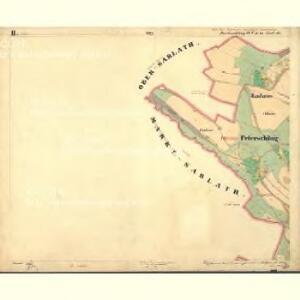 Perleschlag - c5694-1-002 - Kaiserpflichtexemplar der Landkarten des stabilen Katasters