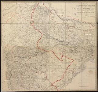 Map of the East Indian Railway