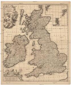 Novissima prae caeteris aliis accuratissima regnorum Angliae, Scotiae Hiberniaeq[ue] tabula