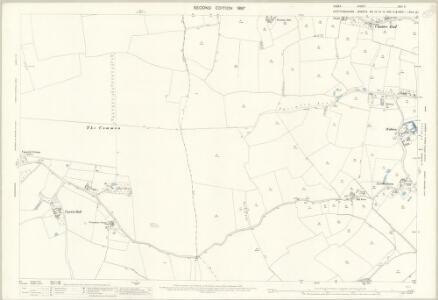 Essex (1st Ed/Rev 1862-96) XXII.6 (includes: Albury; Farnham) - 25 Inch Map