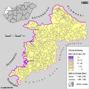 Kroaten in West-Ungarn 1980