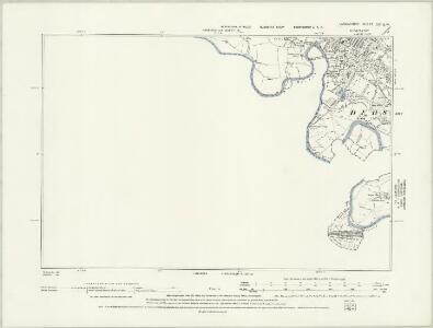 Lancashire CX.SW - OS Six-Inch Map