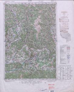 Yugoslavia 1:100,000, Velikovec