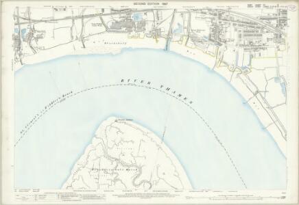 Kent IIIA.13 (includes: Northfleet; Swanscombe; Thurrock) - 25 Inch Map