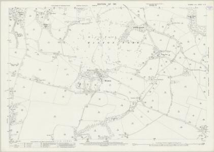 Sussex LI.7 (includes: Steyning; Wiston) - 25 Inch Map